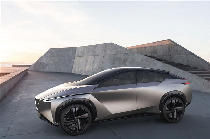 Awd Electric Car >> Nissan Electric Crossover Utility With Awd Will Be