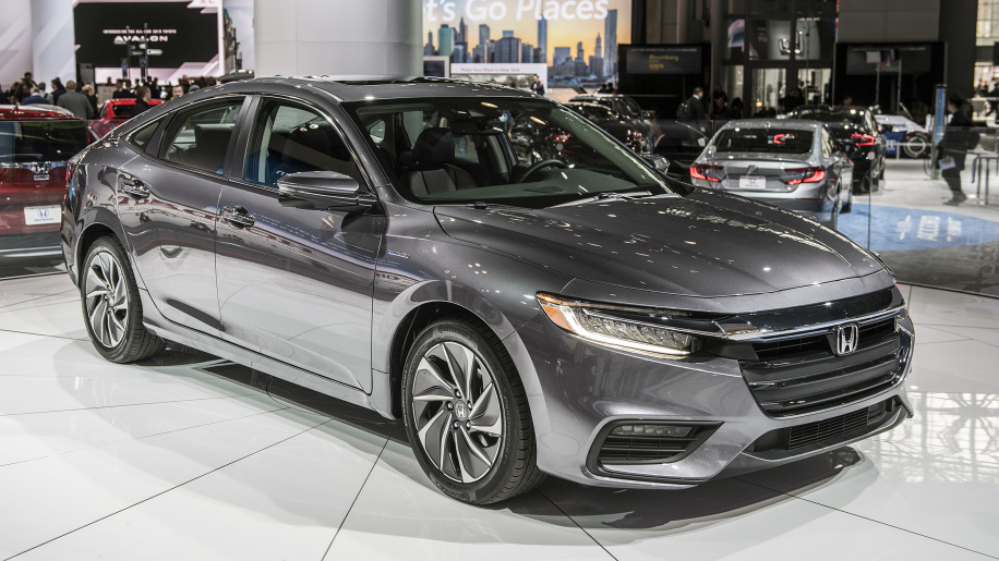 2019 Honda Insight First Drive Mpg Review 55 From Hybrid Sedan