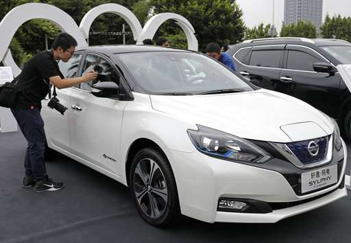 Nissan Leaf Sedan Company Builds Sylphy First Electric Car For