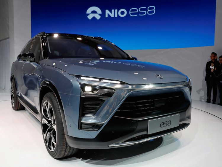 Nio Es6 Makes Appearance In China On Sale June Leccar